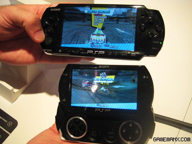 PSP 3000 vs PSP Go | M For Mike